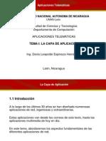 1-La capa de aplicación