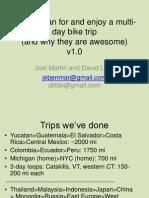 Bike Trips
