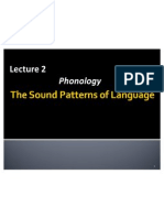 UP Lecture 2 Phonology