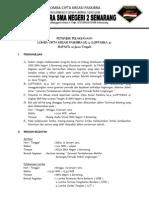 Petunjuk Pelaksanaan Loptasika IV (Lomba Cipta Kreasi Paskibra) Sma Negeri 2 Semarang