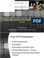 Handwriting Analysis and Graphology - School