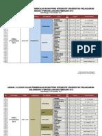 Jadwal Pembekalan & General Test KKNM Januari 2012