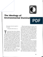 Bell the Ideology of Environmental Domination[1]