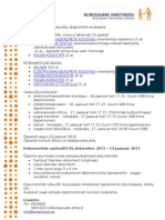 Talvine vastuvõtt 2011-12