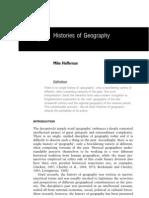 Historis of Geography