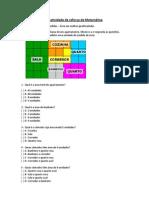 Atividade de Reforço de Matemática 5ºano (3ª) (Perimetros)