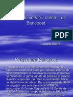 Produse Si Servicii Oferite de Bancpost