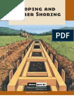 Sloping Timber Shoring Bk43