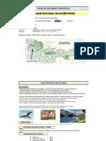 Ficha Parque Nacional Aigüestortes