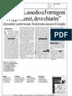"""Caso rifiuti, assedio a Formigoni. """"Troppi silenzi, deve chiarire"""" - la Repubblica"""