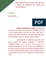 Rafael Oliveira da Silva Pedido Progressão