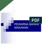 PEWARNA BAHAN MAKANAN