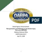 Darpa Baa 09 27 Repair Final 4-22-09