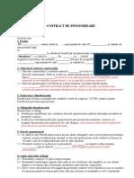 Contract Sponsorizare 3