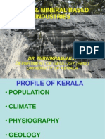 Thrivikramji on Mineral Based Industry for Kerala