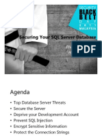 Securing Your SQL Server Database - Phua Chiu Kiang