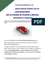Come Acquisire Nuovi Clienti Con La Lead Generation Per La Vendita Di Prodotti e Servizi Domande e Risposte