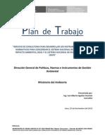 Plan de Trabajo Consultoria