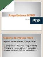 Arquitetura MIPS