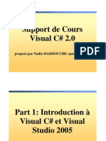 Cours Visual C Sharp