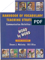 Handbook of Vocabulary Teachin Strategies