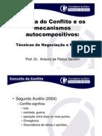 PSICOLOGIA_Teoria Do Conflito e Os Mecanismos Autocompositivos