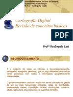Cartografia Digital Conceitos Basicos