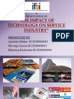 Impact of Technology on Service Industry Group 1