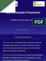 Administração Financeira Projeto Formar para Liderar 1