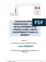 Rapport Alcimed Resines Biosourcees