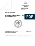 DOE-STD-1189-2008 - Integration of Safety Into the Design Process