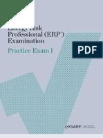 Erp Practice Exam 1 2011