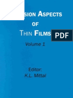 Adesion Aspects of Thin Films 1