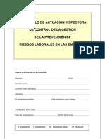 1.1 PROTOCOLO Control de La Gestion de La Prevencion de Riesgos