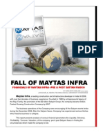 A Report on Financial Analysis of Maytas Infra by Srikanth Seelam