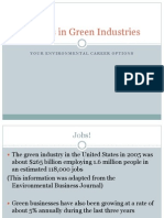 Careers in Green Industries