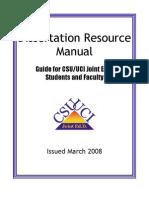 Dissertation Manual 2008