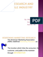 Excomm Ppt on Research Industry