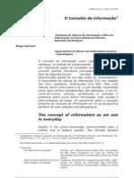 2capurro - conceito de informaçaõ