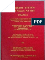 Torrens System Real Property Act 1858 Volume II