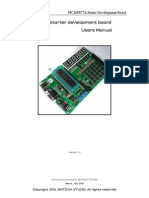 PIC16F877A Starter Development Board