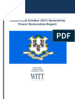 CTPowerRestorationReport20111201 FINAL