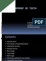 Development of Teeth