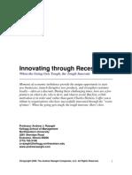 Innovating Through Recession (Andrew Razeghi, Kellogg School of Management)