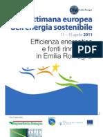 CNA-Programma Settimana Energia Sostenibile