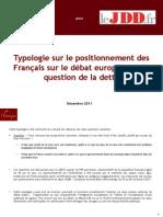 Typologie sur le positionnement des Français - Décembre 2011