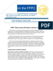 Malik Affiliate Fined for Violating Campaign Finance Laws | FPPC Press Release 10-24-06