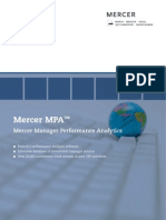 Mercer MPA Brochure