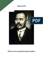 Stjepan Radić - Židovstvo kao negativni element kulture