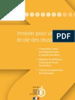 Innover pour une école des réussites (interactif)